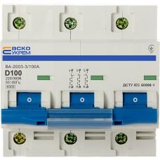 Выключатель автоматический ВА 2003 D 3р
